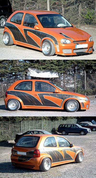 Designlack Auto Corsa 542