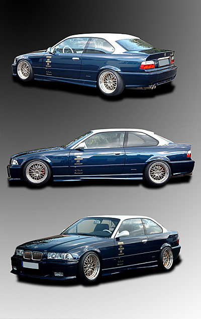 Designlack Auto ABMW E36