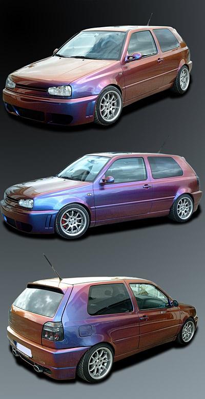 Designlack Auto Golf 3