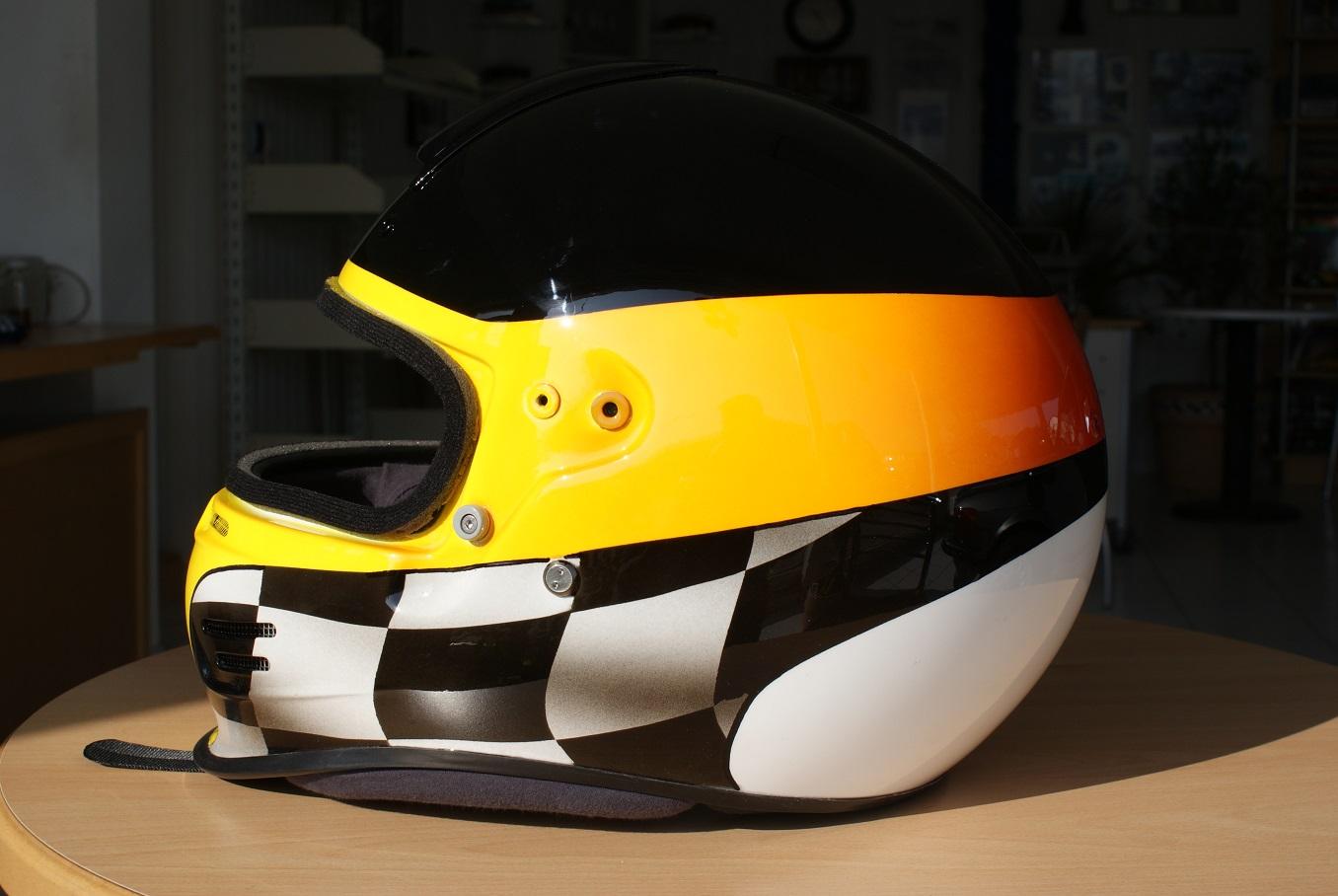 Designlackierung Motorradhelm