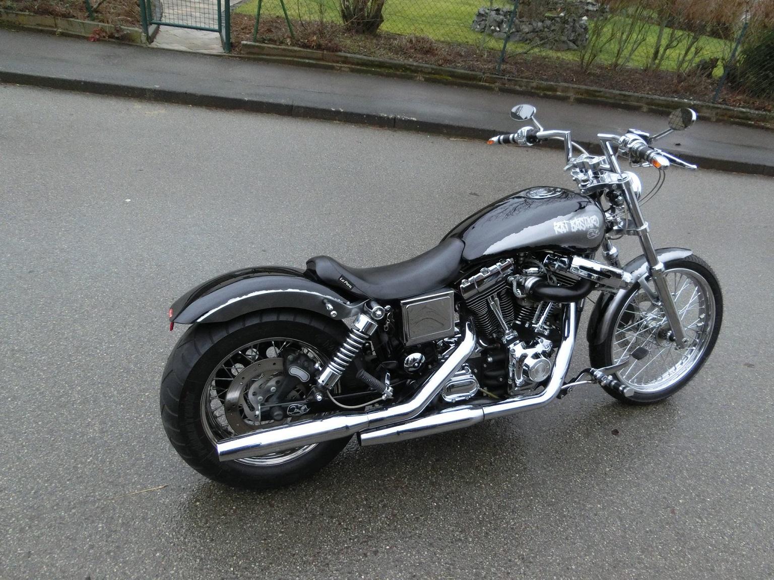 Designlackierung Motorrad